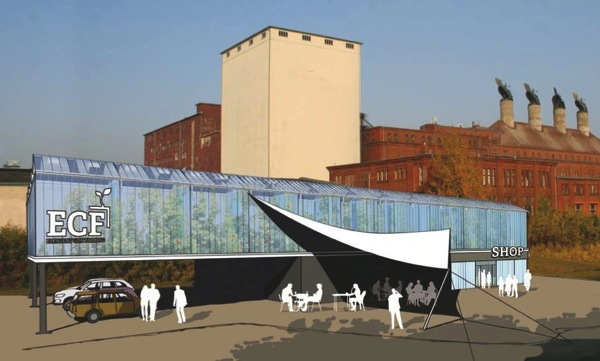 ベルリンで初のコンテナ型アクアポニックス農場が完成。ドイツの企業「ECF」が海洋研究機関とタッグを組んで開発